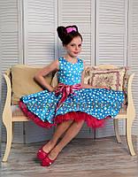 Нарядное платье для девочки Стиляги-005