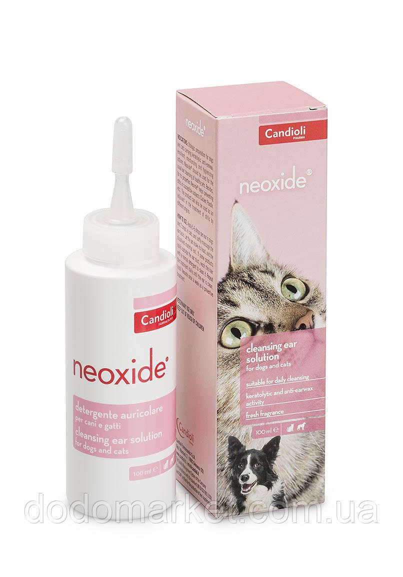 Candioli Neoxide капли для гигиены ушей у собак и котов 100 мл