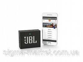 Беспроводная bluetooth колонка JBL GO Black