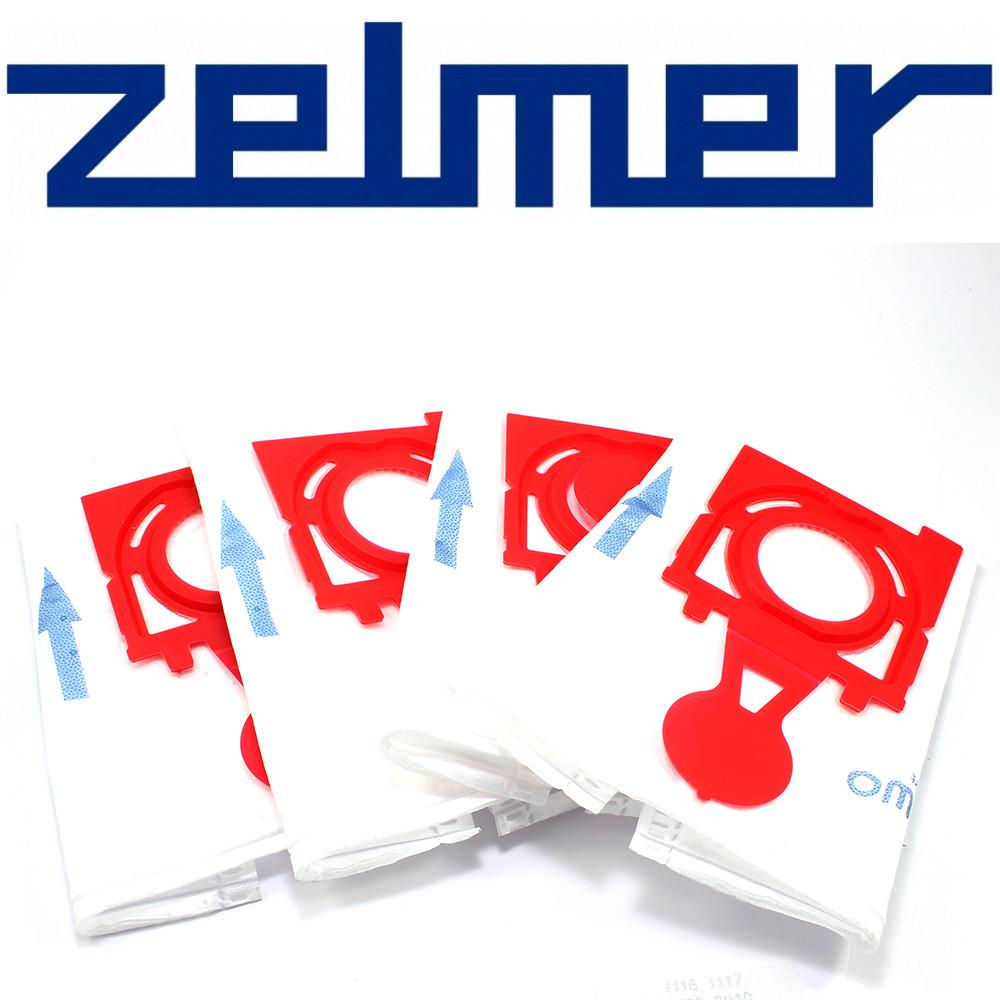 Набор мешков (4шт) + фильтр для пылесоса Zelmer 49.4200 12006468 (ZVCA300B)