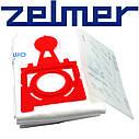 Набор мешков (4шт) + фильтр для пылесоса Zelmer 49.4200 12006468 (ZVCA300B), фото 2