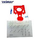 Набор мешков (4шт) + фильтр для пылесоса Zelmer 49.4200 12006468 (ZVCA300B), фото 3