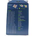 Набор мешков (4шт) + фильтр для пылесоса Zelmer 49.4200 12006468 (ZVCA300B), фото 5
