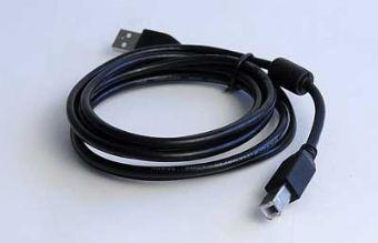 Кабель USB 2.0 - 3.0м AM/BM HQ-Tech черный
