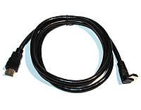 Кабель HDMI to HDMI 1.5m MDX v1.4 папа на 90 градусов/папа позолоченные разъемы