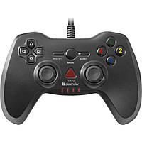 Геймпад Defender Archer Black USB вибрация для PC/PS2/PS3