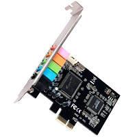Звуковая карта Manli PCI-E 1x 32-bit 6-Channels M-CMI8738-PCI-E-6CH Bulk
