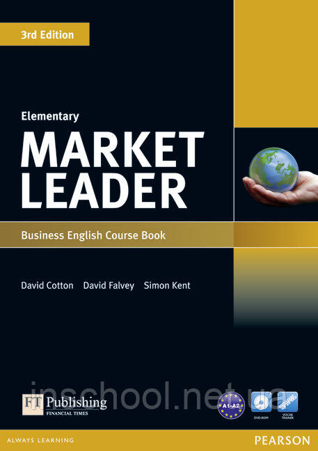 Market Leader 3rd Edition Elementary Coursebook (with DVD-ROM incl. Class Audio) ISBN : 9781408237052