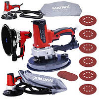 Шлифмашина Matrix DWS 1200 для стен и потолков