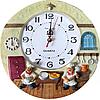 Часы настенные Фруктовая сковородка (лепка), фото 7