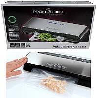 Вакуумный упаковщик Profi Cook PC-VK 1080 + пакет 18 шт, фото 1