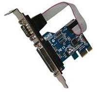 Контроллер PCI-Express Х1 PARALLEL + Serial Com+Lpt PCI-E