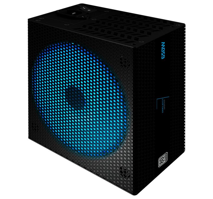 Блок питания Aerocool 650W P7-650 v.2.4 Fan14см aPFC 80+ Platinum RGB Modular Retail