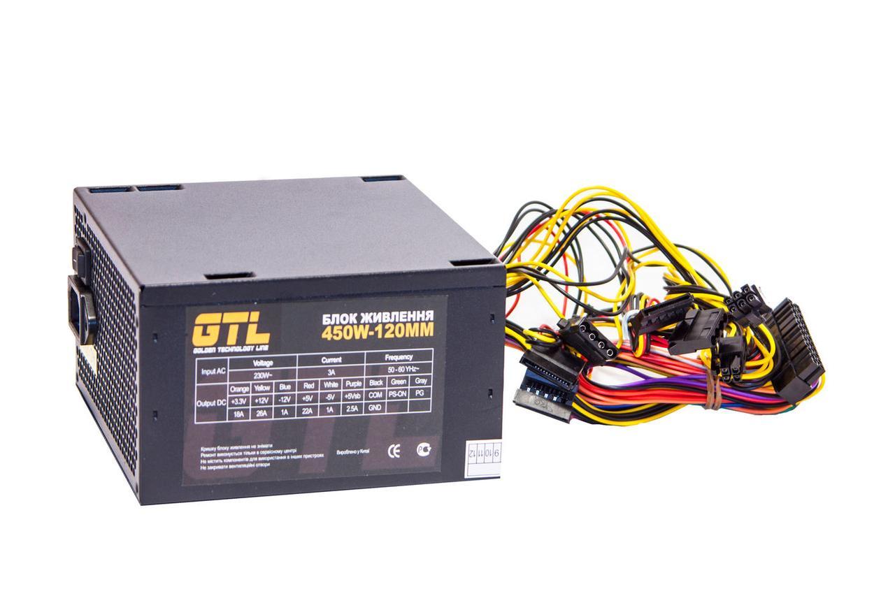 Блок питания GTL 450W 120mm