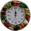 Часы настенные Овощи в кубе (лепка ), фото 6
