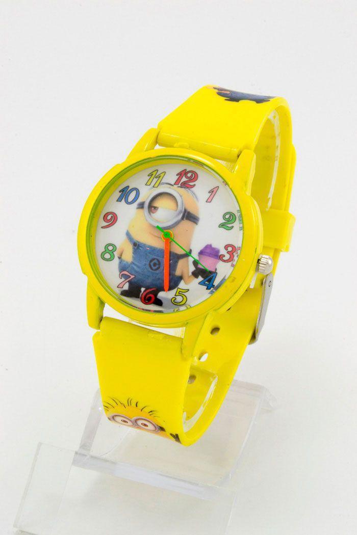 Детские наручные часы Миньоны (код: 11817)