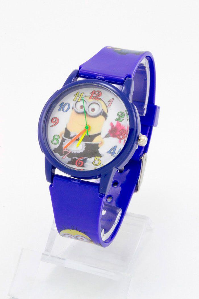 Детские наручные часы Миньоны (код: 11818)