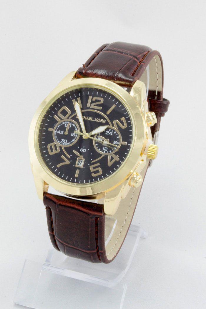 Часы наручные мужские Mi-hael Kor$ (в стиле Майкл Корс) (код: 12102)