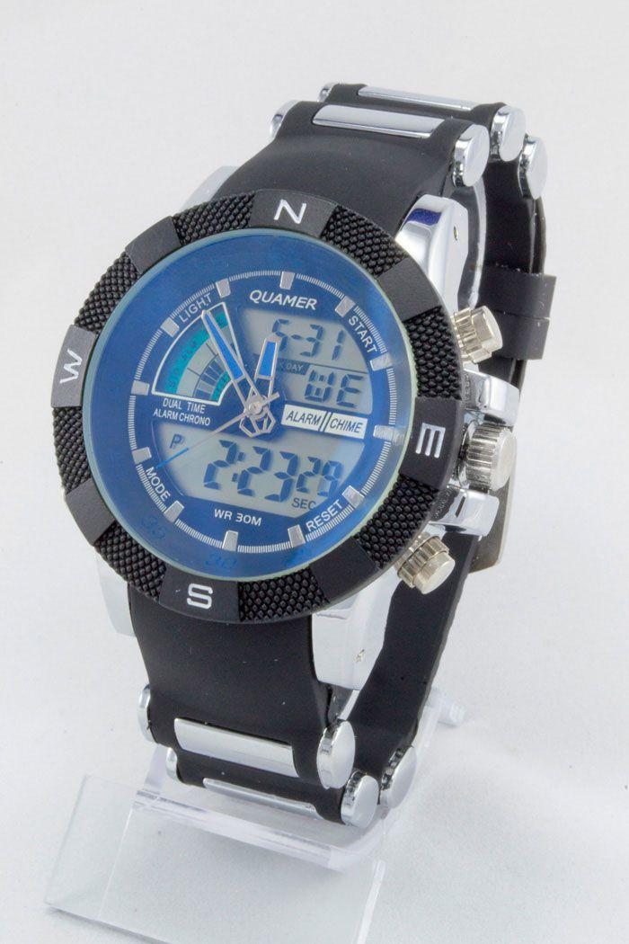 Часы наручные спортивные Quamer (код: 12161), фото 1