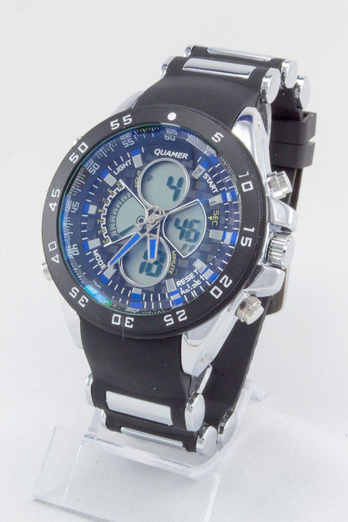 Часы наручные спортивные Quamer (код: 12170)