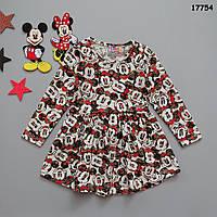Сукня Minnie Mouse для дівчинки. 86-92; 122-128 см