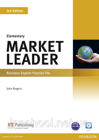 Market Leader 3rd Edition Elementary Practice File (with Audio CD) ISBN : 9781408237069, фото 2