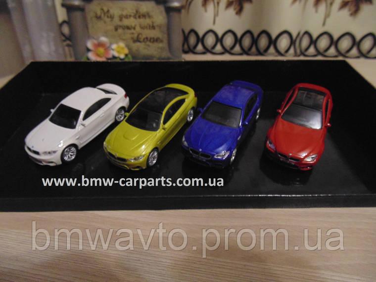 Коллекционный набор из 4-х моделей BMW M-серии, 1:64 scale, фото 2