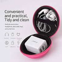 Чехол для хранения спортивных наушников ORICO Pink, фото 3