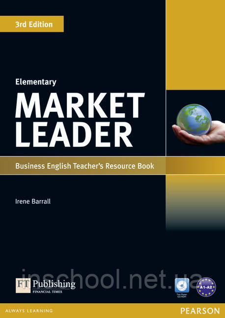 Market Leader 3rd Edition Elementary Teacher's Resource Book (with Test Master CD-ROM) ISBN : 9781408279212