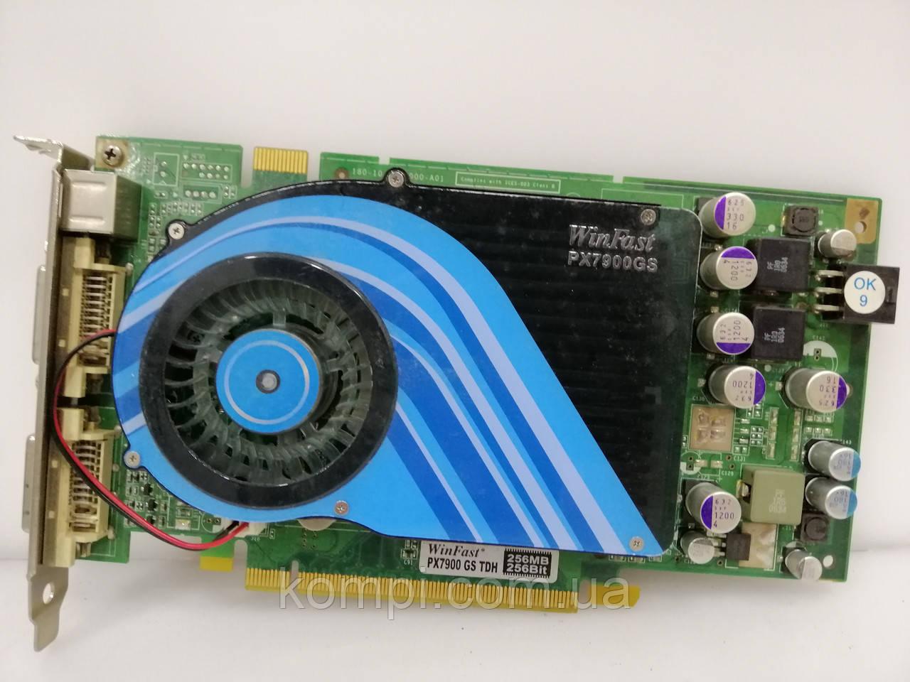 Видеокарта NVIDIA 7900Gs 256MB PCI-E