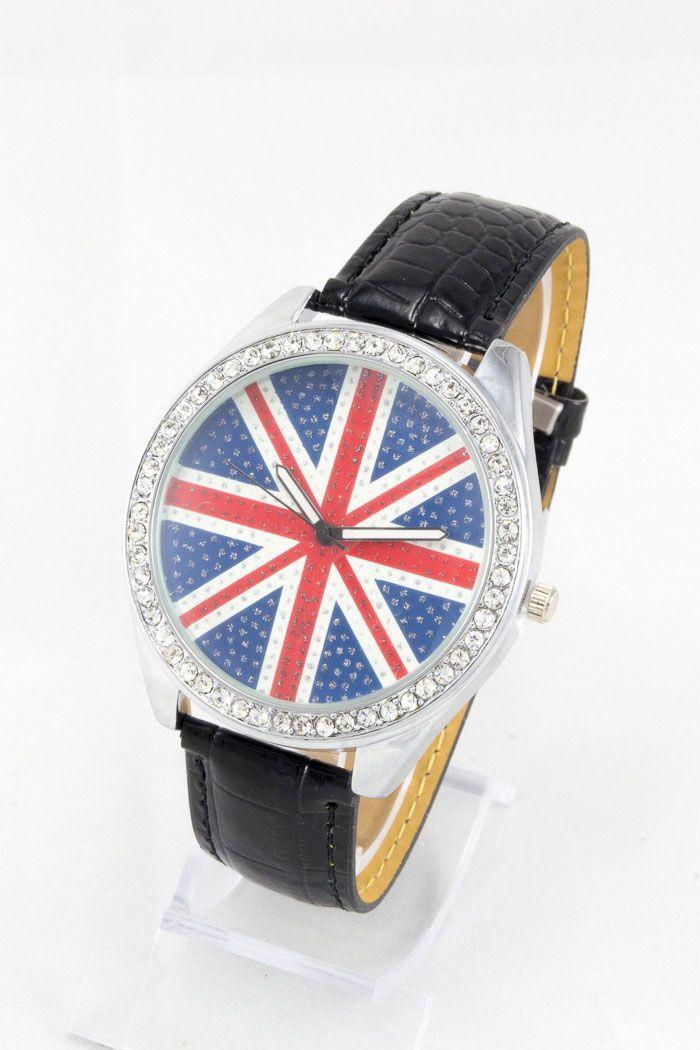 Женские наручные часы Britain Flag (код: 12495)