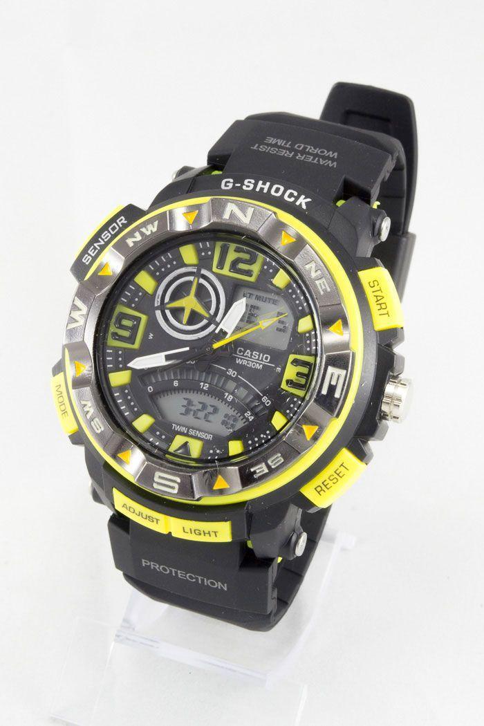 Спортивные наручные часы Casio G-Shock (код: 12555)