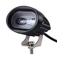 Фара LED, протитуманки, денні ходові вогні, Ближнє світло, R6D 20W, 12-32 В, фото 1