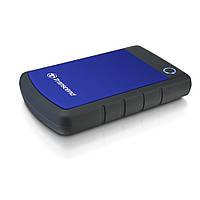 Внешний жесткий диск 2Tb Transcend StoreJet 25H3P Dark Blue 2.5 USB 3.0 TS2TSJ25H3B