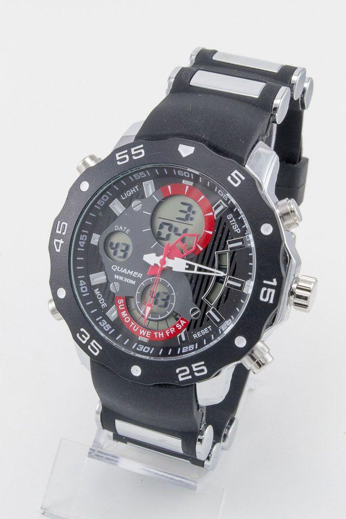 Спортивные наручные часы Quamer (код: 12934), фото 1