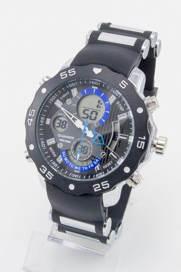 Спортивные наручные часы Quamer (код: 12935)