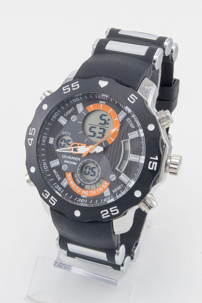 Спортивные наручные часы Quamer (код: 12936)