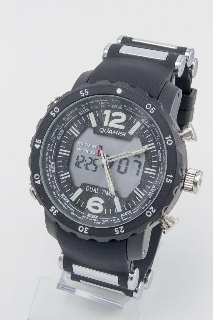 Спортивные наручные часы Quamer (код: 12940), фото 1