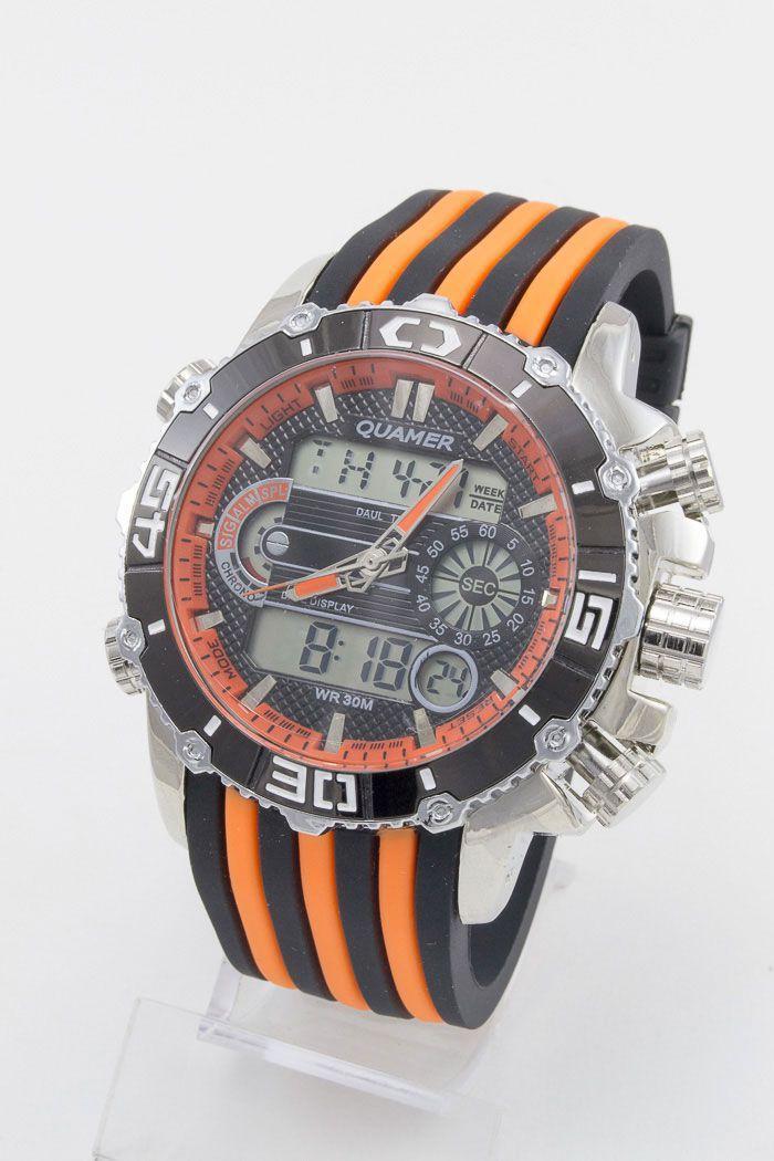 Спортивные наручные часы Quamer (код: 12950)