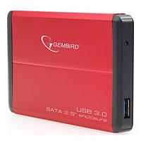 Карман внешний 2,5 Gembird EE2-U3S-2-R Red SATA USB3.0