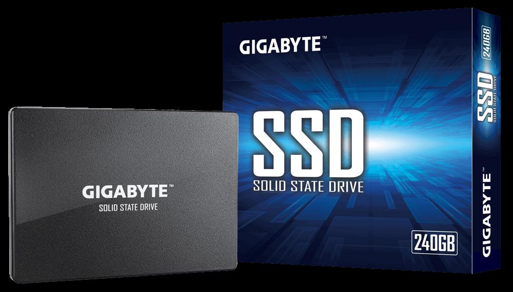 Твердотельный накопитель 240Gb Gigabyte SATA3 GP-GSTFS31240GNTD