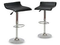 Поворотный барный стул Falva Sofotel хром