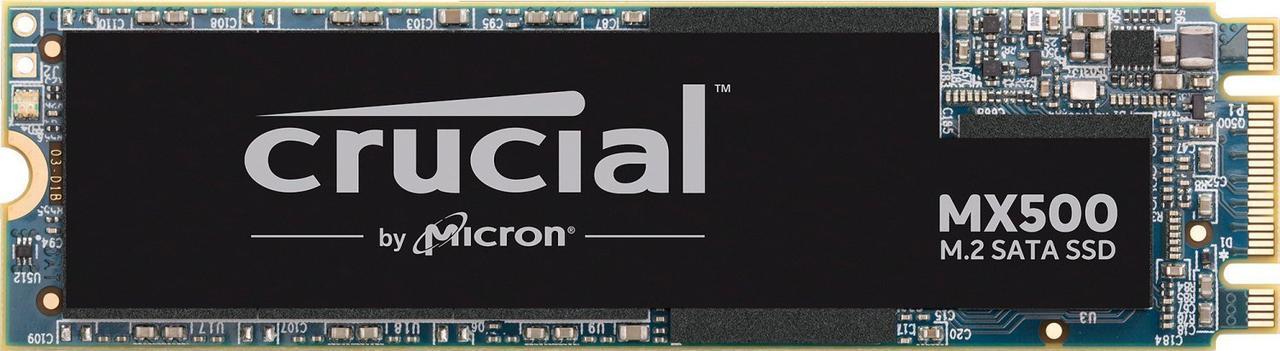 Твердотельный накопитель M.2 1Tb Crucial MX500 SATA3 CT1000MX500SSD4