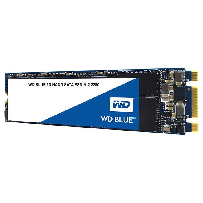 Твердотельный накопитель M.2 500Gb Western Digital Blue SATA3 WDS500G2B0B