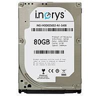 Жесткий диск 2.5 80Gb i.norys SATA2 8Mb 5400 rpm INO-IHDD080S2-N1-5408