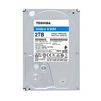 Жесткий диск 3.5 2Tb Toshiba V300 SATA3 64Mb 5700 rpm HDWU120UZSVA
