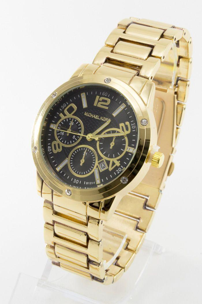 Женские наручные часы Mi-hael Kor$ (в стиле Майкл Корс) (код: 13618)