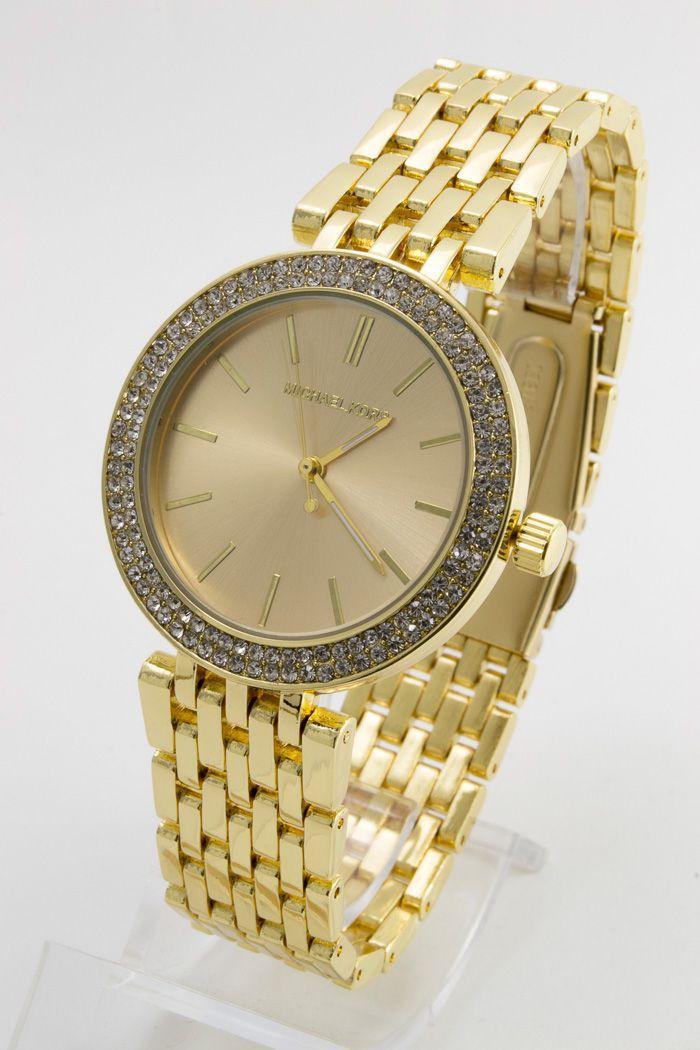 Женские наручные часы Mi-hael Kor$ (в стиле Майкл Корс) (код: 13704)