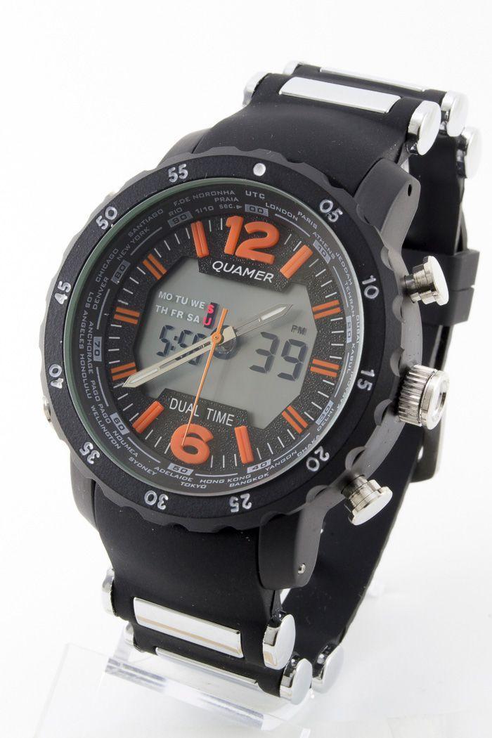 Спортивные наручные часы Quamer (код: 13717)