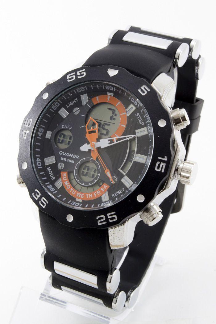 Спортивные наручные часы Quamer (код: 13720), фото 1